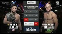 UFC 238. HENRY CEJUDO VS. MARLON MORAES.