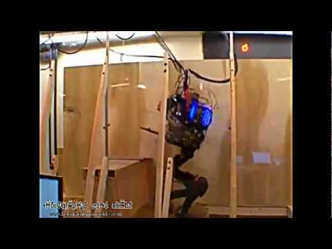 Scary Military Robot Thing DARPA Future Cyborg Android Nano Gizmo