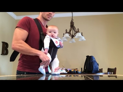 Dad Makes Baby Dance