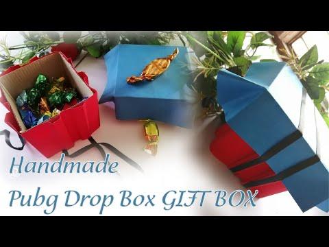 Diy Pubg Drop Gift Box Gift Ideas Gift Making Ideas Pubg