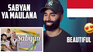 Download lagu SABYAN - YA MAULANA // REACTION (Indonesian Song)
