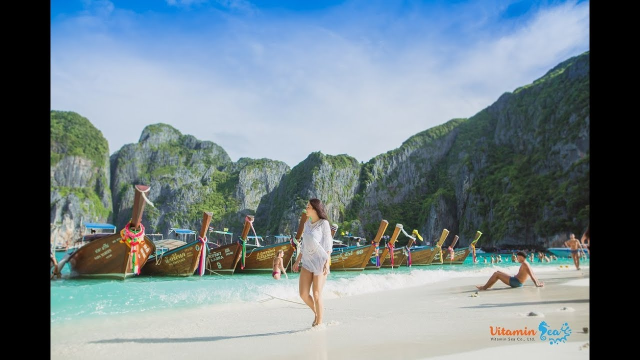 Phi Phi & Bamboo Island Day Tour by Vitamin Sea, Thailand