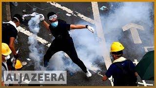 Hong Kong clashes erupt after protesters storm legislature