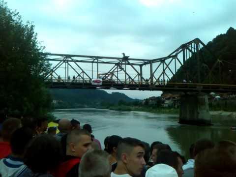 TRAGEDIJA U ZVORNIKU Andrej Beuc skok sa mosta