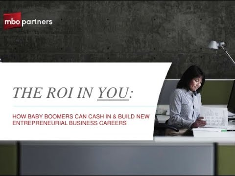 Baby Boomers: How to Build a New Entrepreneurial Career
