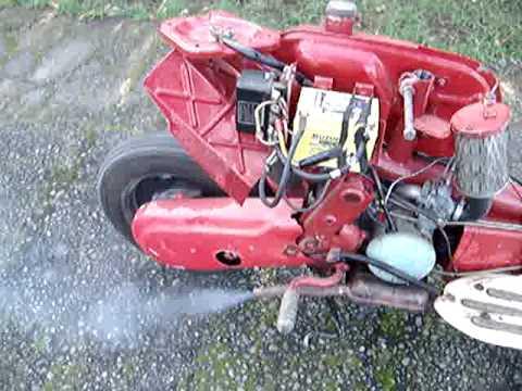 S102 Fuji Rabbit 1965 aka Victa MkII Scooter