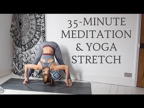MEDITATION & YOGA STRETCH | 35-Minutes All Levels | CAT MEFFAN