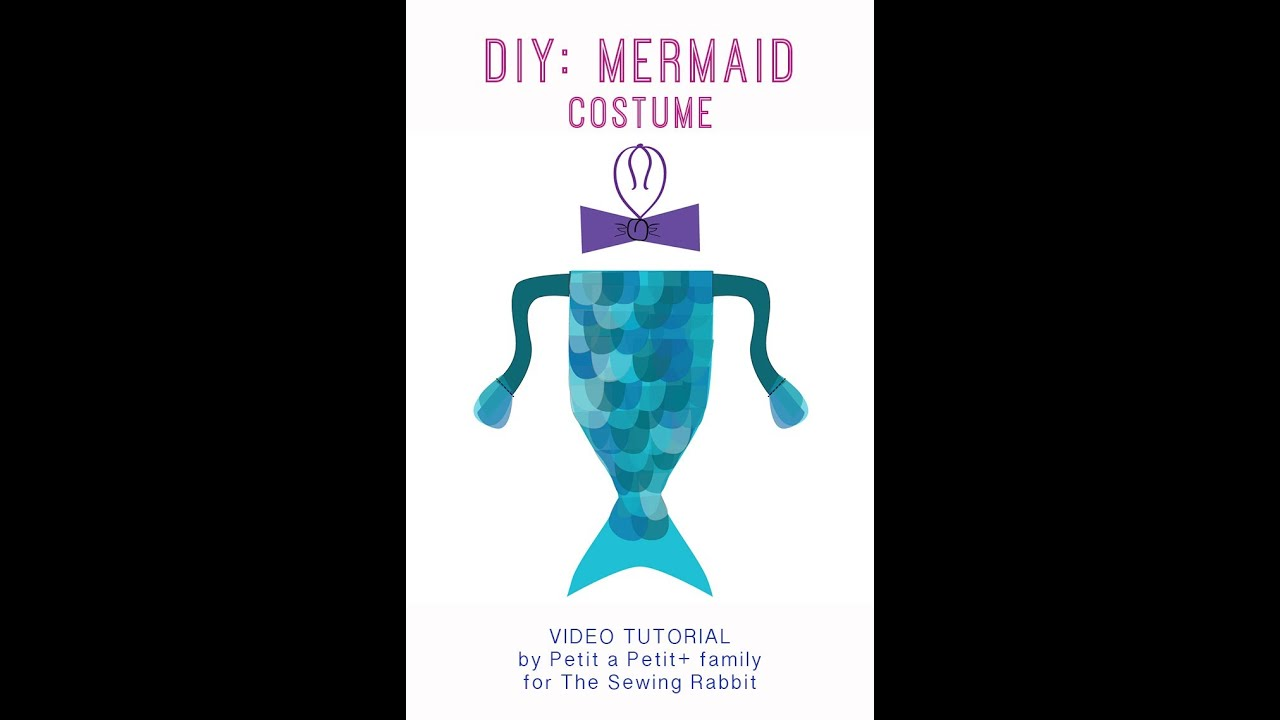 how to make a mermaid costume easy