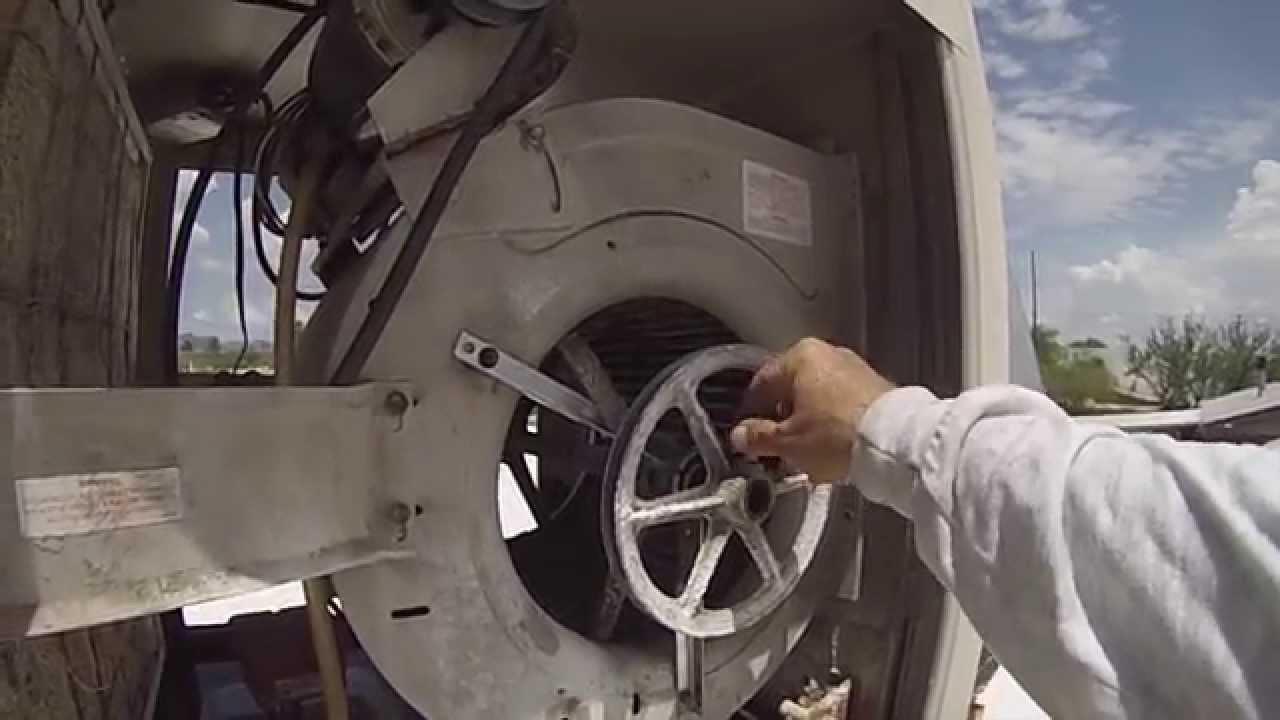 Evaporative (swamp) cooler bearing replacement  YouTube