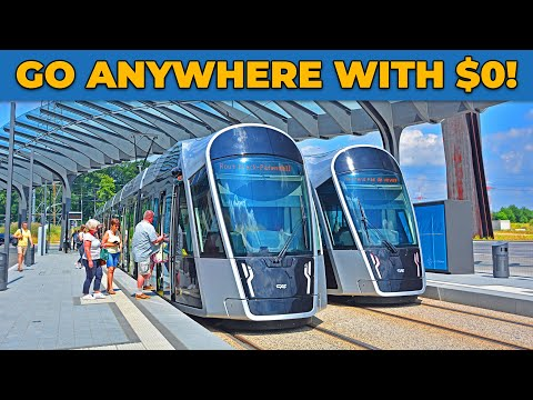 This Country Offers Free Public Transportation! - 🇱🇺 Luxembourg, Europe