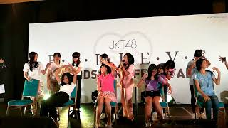 Sesi Game @ jkt48 Handshake event Believe 2/12/2017 part 1