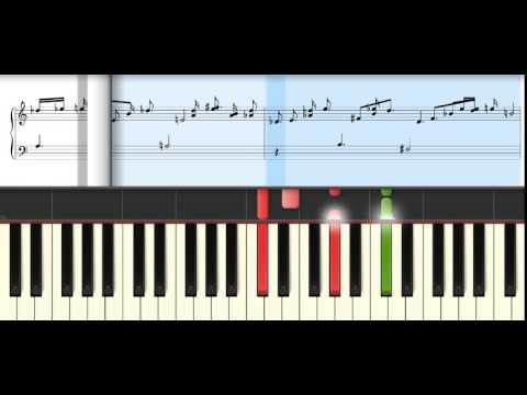 Sadis   Afgan   Midi Sheet   Voice Ooh dan Acoustic Grand Piano   Piano Tutorial Synthesia
