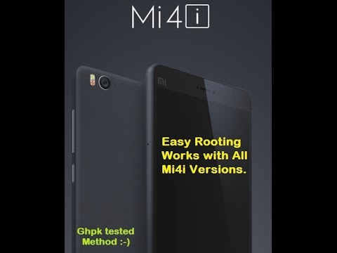 Easy Rooting mi4i, Install Twrp Recovery on Mi4i, Root for Mi4i, 16GB and  32GB Version,