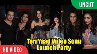 UNCUT - Teri Yaad Video Song Launch Party ||  ft. Anita & Rohit Reddy