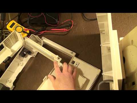 AT&T UNIX PC 3b1 Monitor Neck Assembly Removal / Disassembly