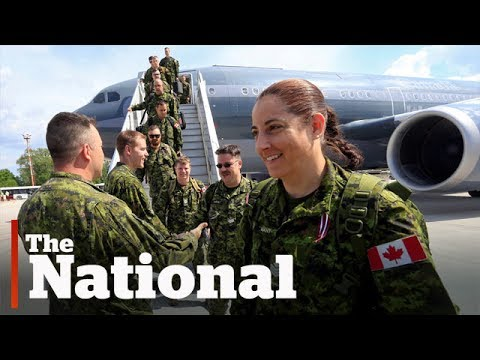 Canadian soldiers plan to stay away from Russian border
