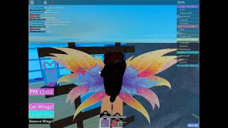 Roll-playing as a fairy!!| roblox| Winx High School Beta