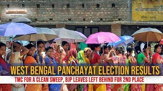 Bengal Panchayat Election Results: TMC up for a clean sweep
