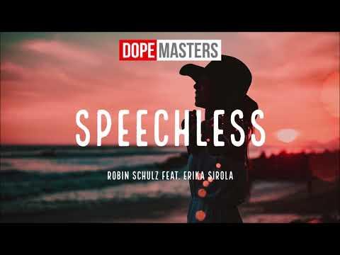 Robin Schulz feat Erika Sirola - Speechless
