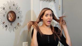 ماسك يجعل الشعر لامع صحي خالي من التلف بمواد في كل بيت ??