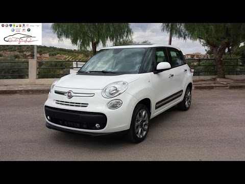 fiat 500l metano lounge nuova youtube. Black Bedroom Furniture Sets. Home Design Ideas