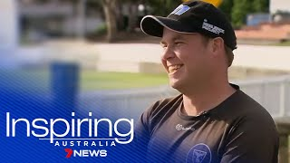 Inspiring Australia: 'Beefy' was told he couldn't play cricket due to his disability | 7NEWS