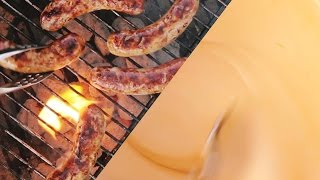 Beer Cheese Beer Brats - Fast Recipe