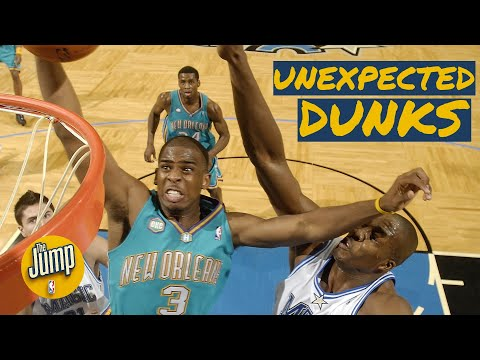 The top 5 unexpected dunks in NBA history | The Jump