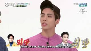 161012 SHINee Weekly Idol Full (Türkçe Altyazılı) #1of1