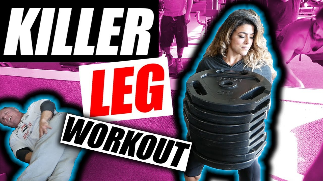 Hardest Leg Workout In The World | Most Will Fail - YouTube