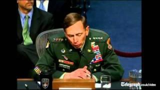 General David Petraeus grilled on Afghan drawdown