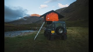 CAMPING IN THE SCOṪTISH HIGHLANDS