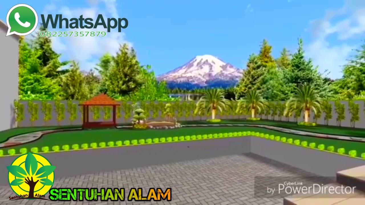 Desain Landscape Halaman Belakang||Tukang taman - YouTube