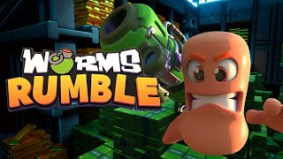 Worms Rumble - Battlegrounds Bank Arena Out Now!