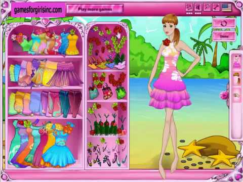 Barbie Dress Up Games Only For You Girl Youtube