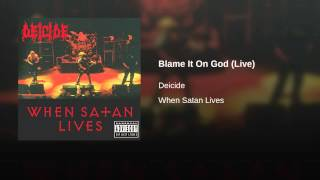 Blame It On God (Live)