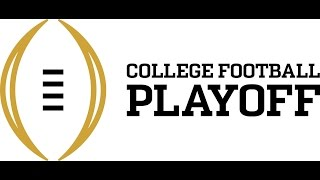 2016 College Football Playoff Prediction Show