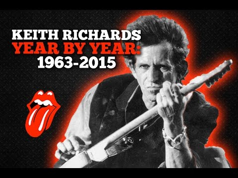 Keith Richards: Year By Year Photos, 1963-2015