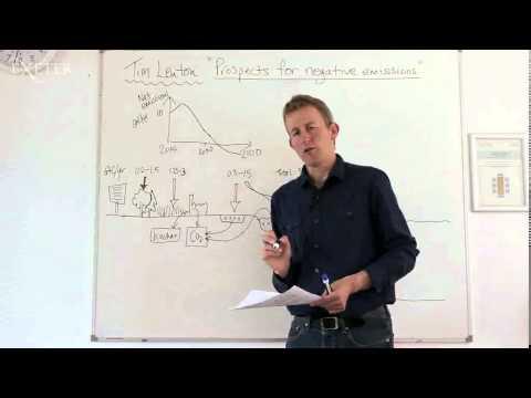 Professor Tim Lenton, University of Exeter Prospects for negative emissions