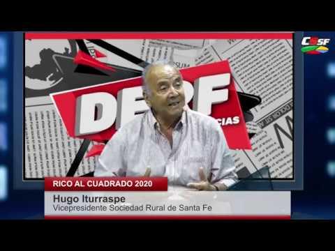 Iturraspe: El campo y el Gobierno deberíamos trabajar juntos