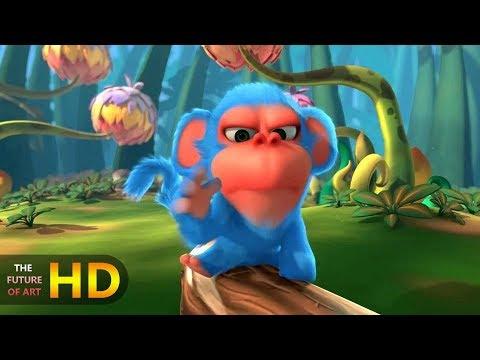 "CGI 3D Animated Short Film: ""Monkaa"""