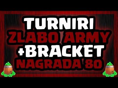 🔴 CLASH ROYALE - TURNIRI: ZLABO ARMY + BRACKET - NAGRADA 80 GEMOVA🔴