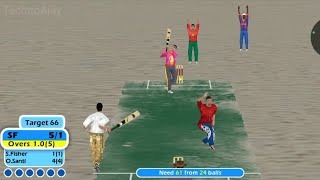 Beach Cricket Gameplay