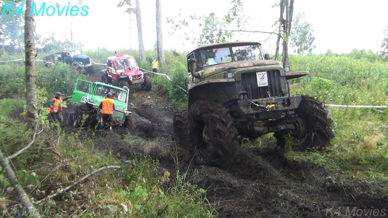 4x4 Off-Road Truck Race | Madona 2018