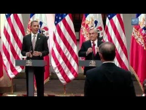 President Obama, President Pinera Meet in Santiago