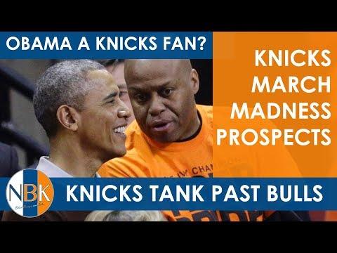 New York Knicks Move Up in Lottery; Transformative Development Program?; Barack Obama a Knicks Fan?