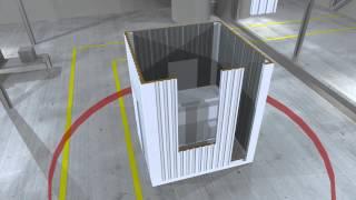 видео Шумозащитные кожухи (еврокожухи) и контейнеры «Сервер» для дизельных электростанций и бензиновых генераторов