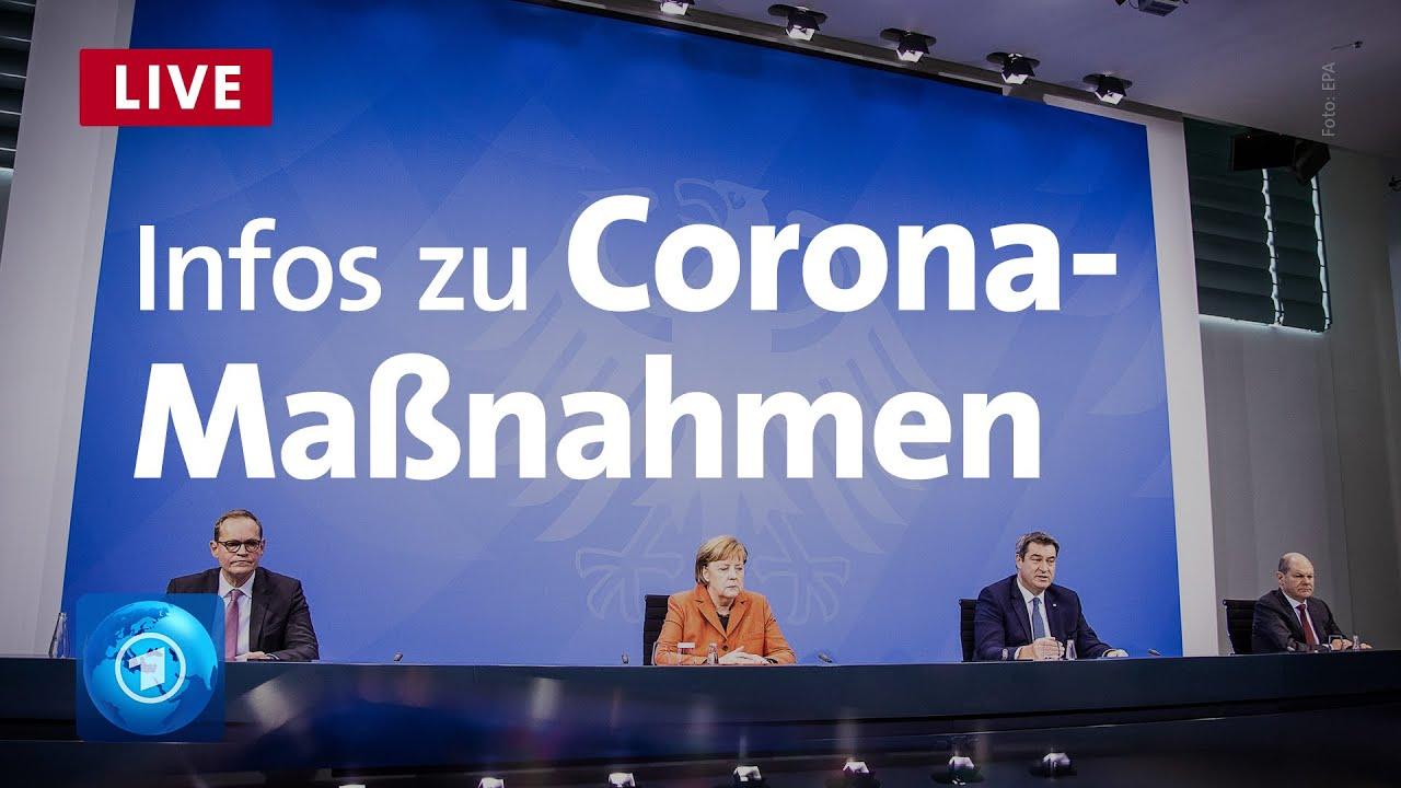 Pressekonferenz Bund und Länder beschließen schärfere Corona Maßnahmen