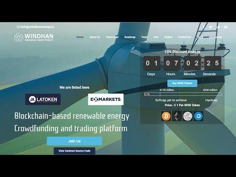Windhan - Blockchain-based Renewable Energy Crowdfunding And Trading Platform