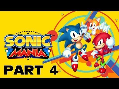 Sonic Mania Part 4 - Ascending Power Pack Zone